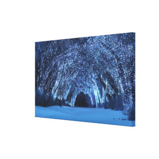 Sleepwalker Woods (Christmas) Canvas Print