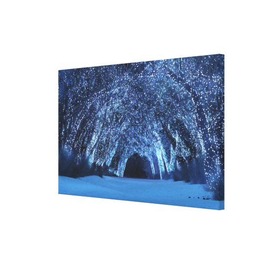 Sleepwalker Woods (Christmas) Canvas Print