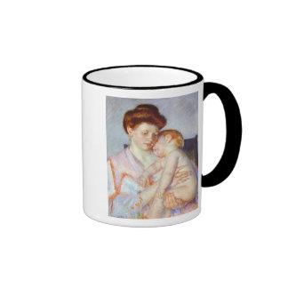 Sleepy Baby. c. 1910, Mary Cassatt Mug