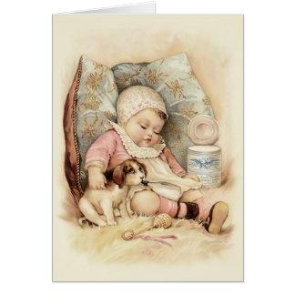 Sleepy Baby Card