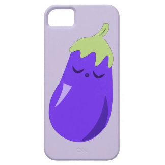 Sleepy Baby Eggplant iPhone case iPhone 5 Cases
