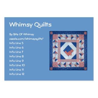 Sleepy Bear Quilt Business Card