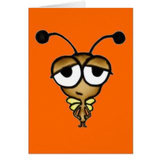 Sleepy Bug Greeting Card