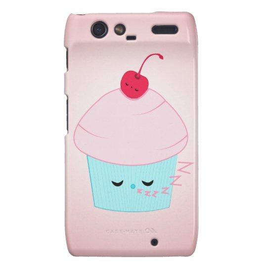 Sleepy Cupcake and Cherry Kawaii Droid Case