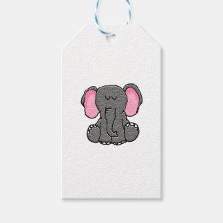 Sleepy Elephant Gift Tags