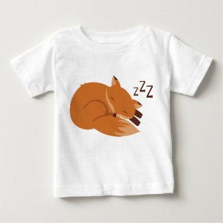 Sleepy Fox Baby T-Shirt