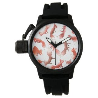 Sleepy Foxes Wristwatches