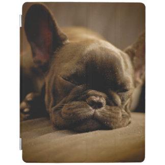 Sleepy French Bulldog iPad Cover