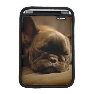 Sleepy French Bulldog iPad Mini Sleeve