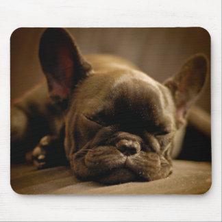 Sleepy French Bulldog Mouse Mat