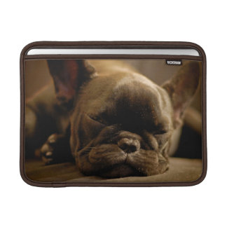 Sleepy French Bulldog Sleeve For MacBook Air