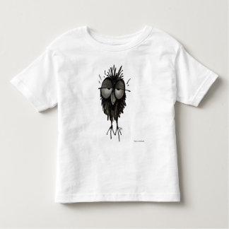 Sleepy Funny Owl Toddler T-Shirt