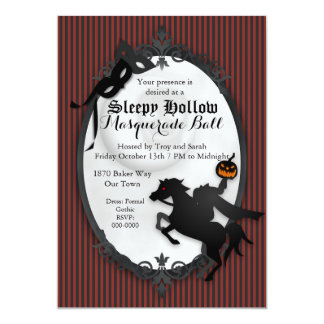 Sleepy Hallow Headless Horseman Invitation