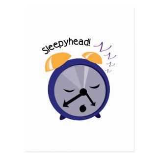 Sleepy Head Postcard