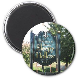 Sleepy Hollow 6 Cm Round Magnet
