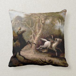 Sleepy Hollow Headless Horseman Pillow Throw Cushions