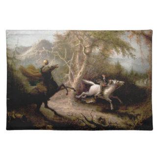 Sleepy Hollow Headless Horseman Placemat