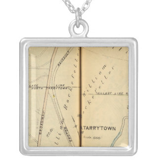 Sleepy Hollow, New York 2 Silver Plated Necklace
