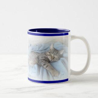 Sleepy Kitty Mugs