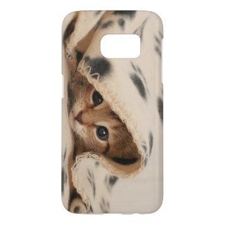 Sleepy kitty phone case