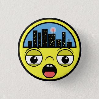Sleepy Little Town 3 Cm Round Badge