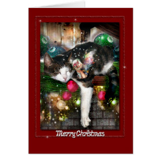 Sleepy Magical Christmas  Card