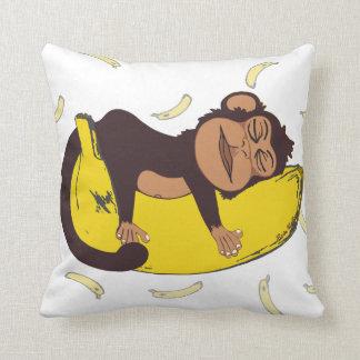 Sleepy Monkey Cushion
