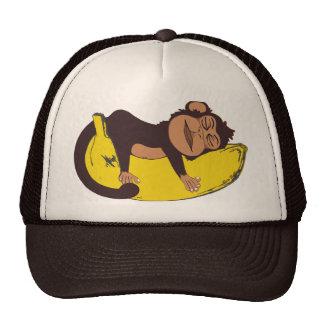 Sleepy Monkey Hat