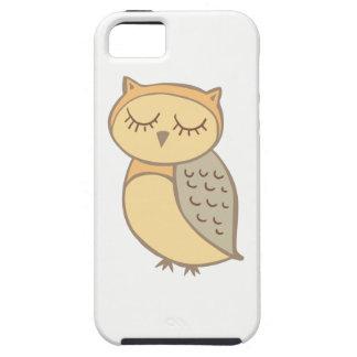 Sleepy Owl Tough iPhone 5 Case