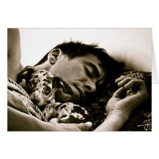 """""""Sleepy Sunday Splendor"""" by Christine Tetso Card"""