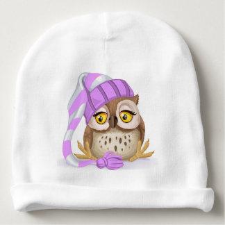 Sleepy Time Owl Baby Hat Baby Beanie