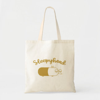 Sleepyhead Capsule Bee Tote Bag