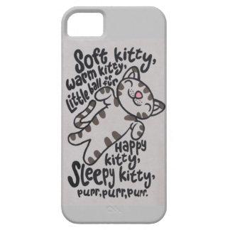 SleepyKittySongCase iPhone 5 Cases