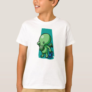 Sleepytime Cthulhu Kids T-Shirt