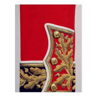 Sleeve detail of a British Army Uniform Postcard