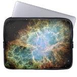 Sleeve laptop - Crab Nebula Laptop Computer Sleeves