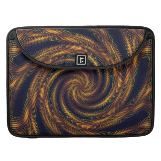 Sleeve MacBook Fractal Spiral Vortex