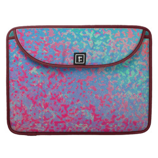 Sleeve MacBook PRO Colorful Corroded Background
