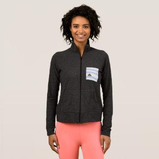 Sleeve maritime jacket black