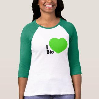 Sleeve Raglan I love bio Tshirts
