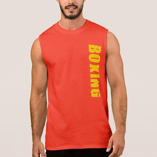 Sleeveless Boxing T-shirt