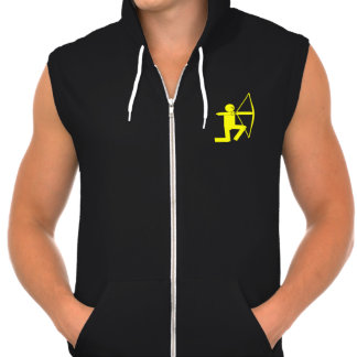 Sleeveless Zip Hoodie - Archer's shirt