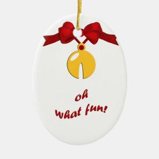 Sleigh Bell Fun Christmas Ornament