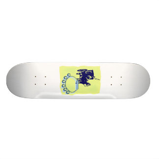 Sleigh Bells With Amish Buggy Musical Graphic Skate Deck