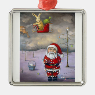 Sleigh Jacker Christmas Ornament