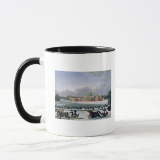 Sleigh Race at the Petrovsky Park in Moscow Mug