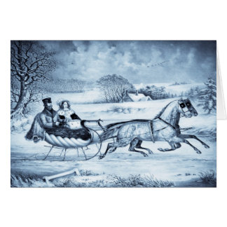 Sleigh Ride cards