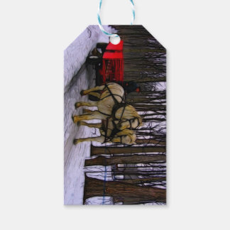 Sleigh Ride in the Snow Collection Gift Tags