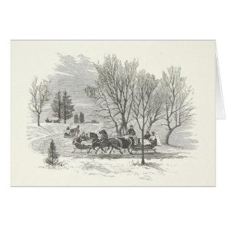 Sleigh Rides Are For Jerks Greeting Card