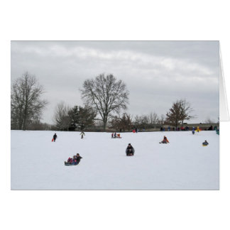 Sleigh Riding Greeting Cards